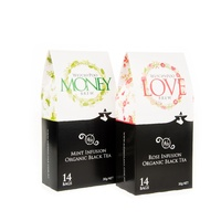 25% Discount On 1 x Love, 1 x Money Teas (Pyramid Bags)